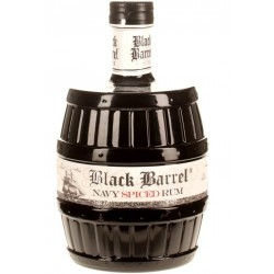 A.H. Riise Black Barrel Navy Spiced Rum 0,7L