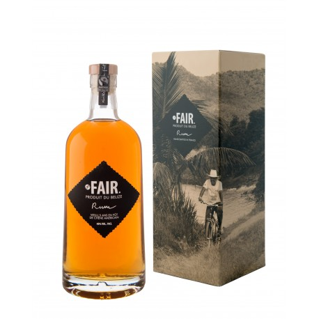Fair Trade Belize Rum 0,7L