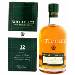 Summum 12 Solera Ron Dominicano Malt Whisky Cask Finish Finish Rum 12yo 0,7L