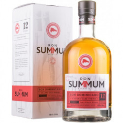 Summum 12 Solera Ron Dominicano Cognac Finish Rum 12yo 0,7L