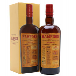 Hampden Estate Pure Single OVERPROOF Jamaican Rum 0,7L