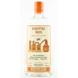 Habitation Velier FORSYTHS WHITE WPE Jamaica Pure Single Rum 0,7L