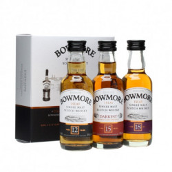 Bowmore Distillers Collection 3x0,05L (12yo + 15yo + 18yo)