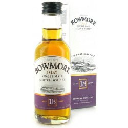 Bowmore Malt Whisky 18yo 0,05L