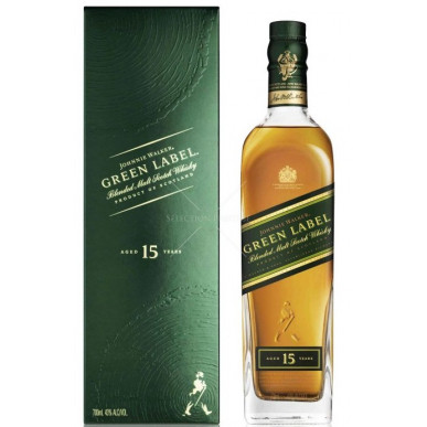 Johnnie Walker Green Label Whisky 15yo 0,7L
