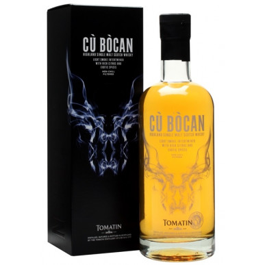 Tomatin Cu Bocan Peated Single Malt Whisky 0,7L