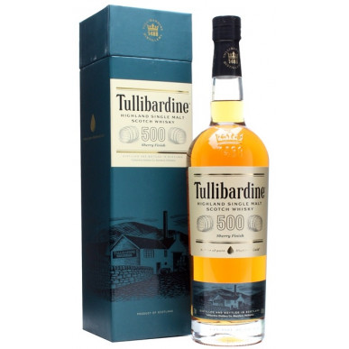 Tullibardine 500 Sherry Finish Whisky 0,7L