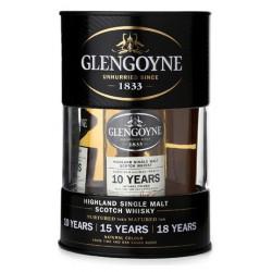 Glengoyne Whisky Tin Box Miniset 3x0,05L (10yo + 15yo + 18yo)