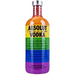 Absolut Colors Rainbow Limited Edition Vodka 0,7L
