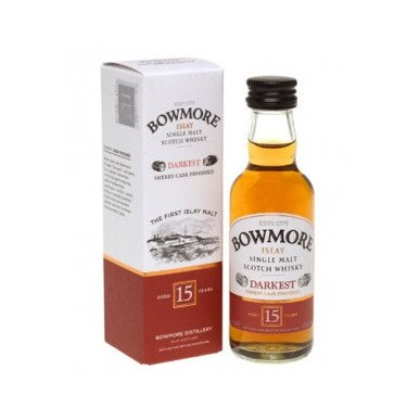 Bowmore Darkest Sherry Cask Whisky 15yo 0,05L