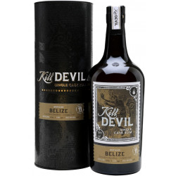 Hunter Laing Kill Devil Belize Single Cask Rum 11yo 0,7L