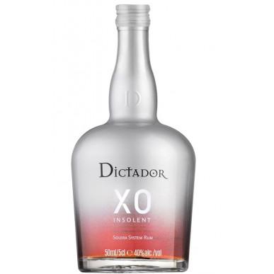Dictador XO INSOLENT Solera System Rum 0,05L