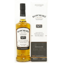 Bowmore No. 1 MALT Islay Single Malt Scotch Whisky 0,7L