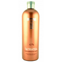 Tatra Tea Peach & White Tea Liqueur 0,7L
