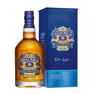 Chivas Regal GOLD SIGNATURE Whisky 18yo 0,7L