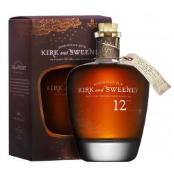 Kirk & Sweeney Rum 12 let 0,75L