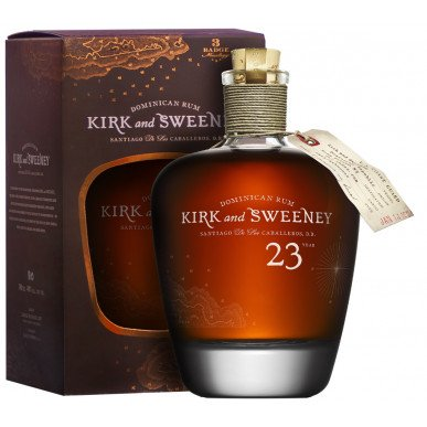 Kirk & Sweeney Rum 23 let 0,75L