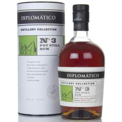 Diplomatico Distillery Collection No. 3 Pot Still Rum 0,7L