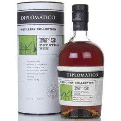 Diplomatico Distillery Collection No. 3 Pot Still Rum 0,7L