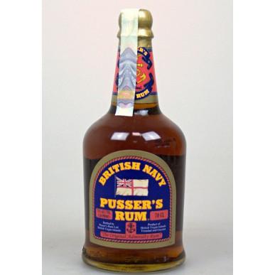Pusser's British Navy Green Label Overproof Rum 0,7L