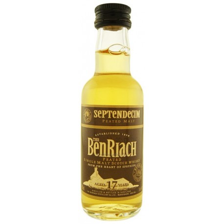 BenRiach Septendecim Whisky 17 let 0,05L