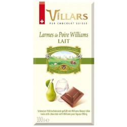 Villars - mléčná čokoláda Williams 100g