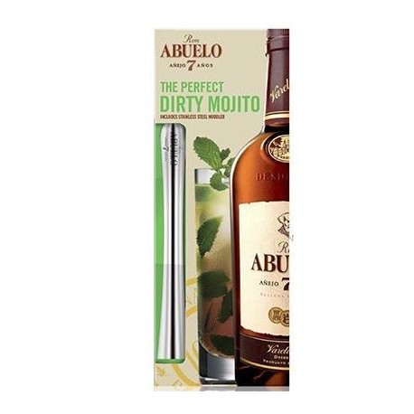 "Abuelo ""The Perfect Dirty Mochito Pack"" Rum 7 let 0,7L"