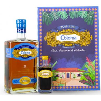 Coloma Rum 8yo 0,7L + Coloma Coffee Liqueur 0,05L