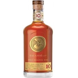 Bacardi Gran Reserva Diez Extra Rare Gold Rum 10yo 0,7L