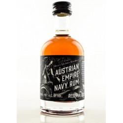 Austrian Empire Navy Reserve 1863 Rum 0,05L