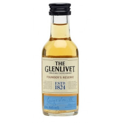 The Glenlivet FOUNDER'S RESERVE Single Malt Scotch Whisky 0,05L