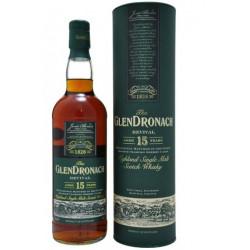 Glendronach Revival Non Chill Filtered Single Malt Scotch Whisky 15yo 0,7L