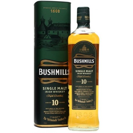 Bushmills Single Malt Whiskey 10 let 1L