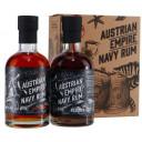 Austrian Empire Navy Reserve 1863 Rum + Solera Navy Rum 18yo 2x0,2L