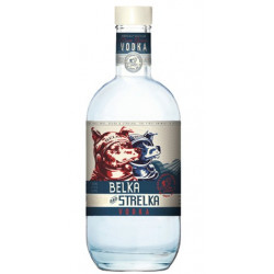 Belka and Strelka Vodka 0,7L