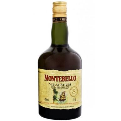 Montebello Vieux Agricole Rhum 8yo 0,7L