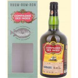 Compagnie des Indes Barbados Foursquare Single Cask Rum 18yo 0,7L