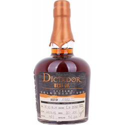 Dictador BEST OF 1980 EXTREMO Colombian Limited Release Rum 0,7L