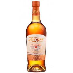 Ron Zacapa Centenario Ambar 12 Sistema Solera Reserva Rum 1L