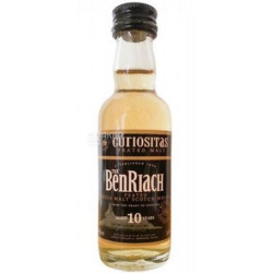 BenRiach CURIOSITAS Peated Malt Whisky 10yo 0,05L