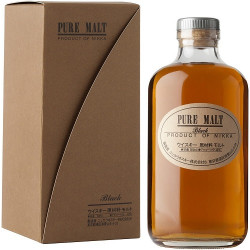 Nikka Pure Black Blended Malt Whisky 0,5L