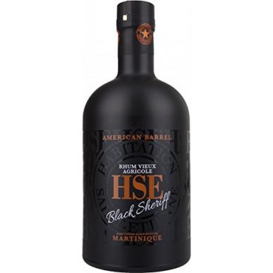 HSE Vieux Agricole Black Sheriff American Barrel Rhum 0,7L