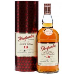 Glenfarclas Highland Single Malt Scotch Whisky 18yo 1L