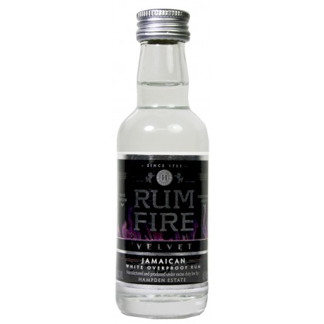 Fire Velvet Overproof Rum 0,05L