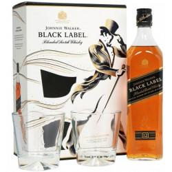 Johnnie Walker BLACK LABEL Blended Scotch Whisky 12yo 0,7L