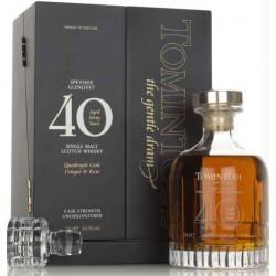 Tomintoul Single Malt Scotch Whisky 40yo 0,7L