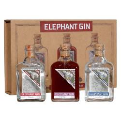 Elephant Gin Miniature Sample Set 3x0,05L