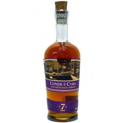 Conde de Cuba Ron Artesanal Cubano Rum 7yo 0,7L