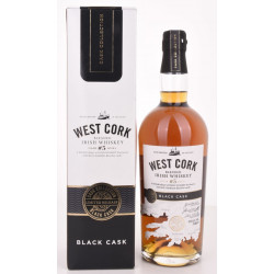 West Cork Char No. 5 Level Blended Irish Whiskey BLACK CASK Finish 0,7L