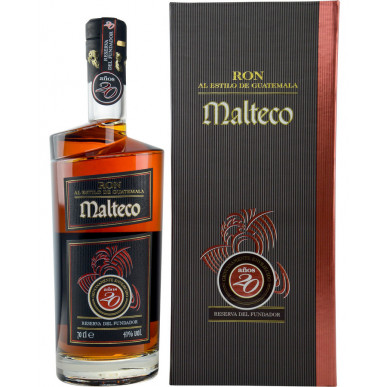 Malteco Reserva del Fundador Rum 20yo 0,7L